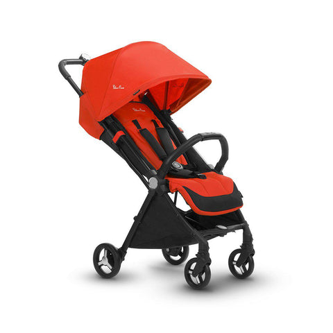 Silver Cross Jet Pushchair - Mandarin-Strollers- Natural Baby Shower