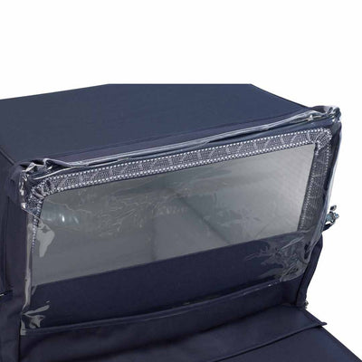 Silver Cross Kensington Rain Shield - Navy-Raincovers- Natural Baby Shower