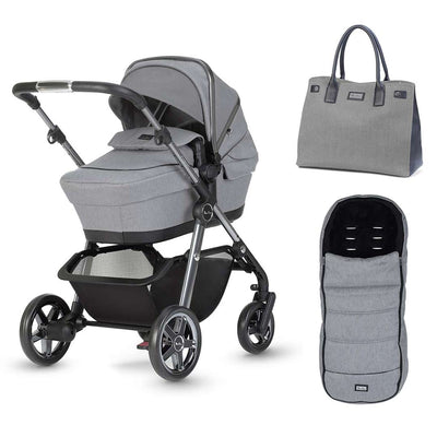 Silver Cross Pacific Autograph Bundle - Rock-Stroller Bundles- Natural Baby Shower
