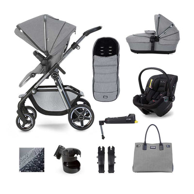 Silver Cross Pacific Autograph Dream + Base Bundle - Rock-Travel Systems- Natural Baby Shower