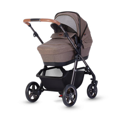 Silver Cross Pacific Autograph Pushchair + Carrycot - Bronze-Strollers- Natural Baby Shower