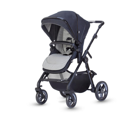 Silver Cross Pacific Autograph Pushchair - Ink-Strollers- Natural Baby Shower