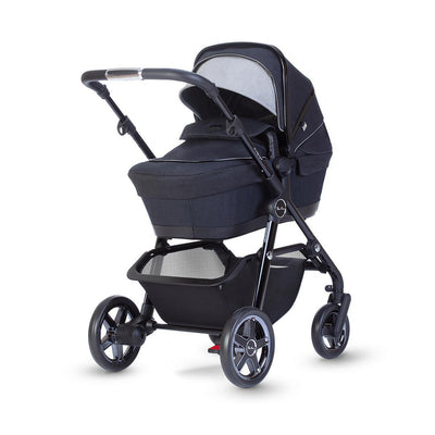 Silver Cross Pacific Autograph Pushchair + Carrycot - Ink-Strollers- Natural Baby Shower