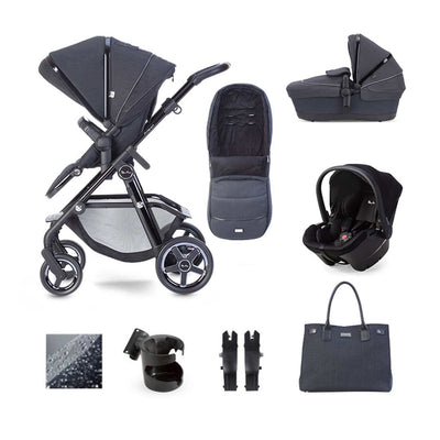 Silver Cross Pacific Autograph Simplicity Plus Bundle - Ink-Travel Systems- Natural Baby Shower