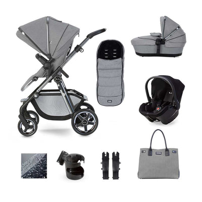 Silver Cross Pacific Autograph Simplicity Plus Bundle - Rock-Travel Systems- Natural Baby Shower