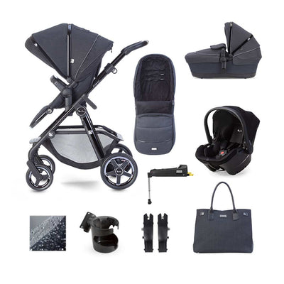 Silver Cross Pacific Autograph Simplicity Plus + Base Bundle - Ink-Travel Systems- Natural Baby Shower