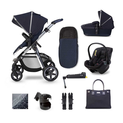 Silver Cross Pioneer Dream + Base Bundle - Sapphire-Travel Systems- Natural Baby Shower