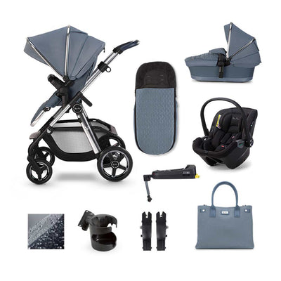 Silver Cross Pioneer Dream + Base Bundle - Sky-Travel Systems- Natural Baby Shower