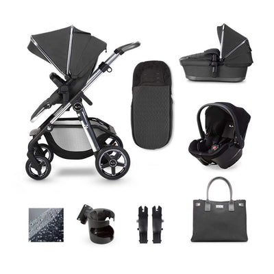 Silver Cross Pioneer Simplicity Plus Bundle - Clay-Travel Systems- Natural Baby Shower