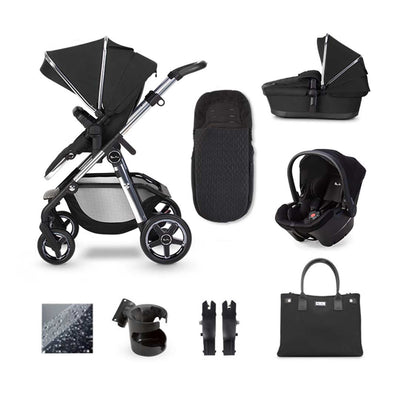 Silver Cross Pioneer Simplicity Plus Bundle - Pepper-Travel Systems- Natural Baby Shower