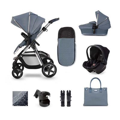 Silver Cross Pioneer Simplicity Plus Bundle - Sky-Travel Systems- Natural Baby Shower