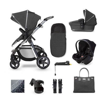 Silver Cross Pioneer Simplicity Plus + Base Bundle - Clay-Travel Systems- Natural Baby Shower
