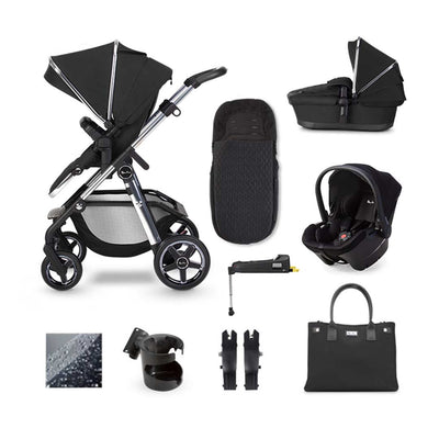 Silver Cross Pioneer Simplicity Plus + Base Bundle - Pepper-Travel Systems- Natural Baby Shower