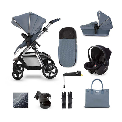 Silver Cross Pioneer Simplicity Plus + Base Bundle - Sky-Travel Systems- Natural Baby Shower