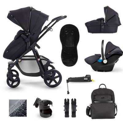 Silver Cross Pioneer Bundle - Eclipse-Travel Systems- Natural Baby Shower
