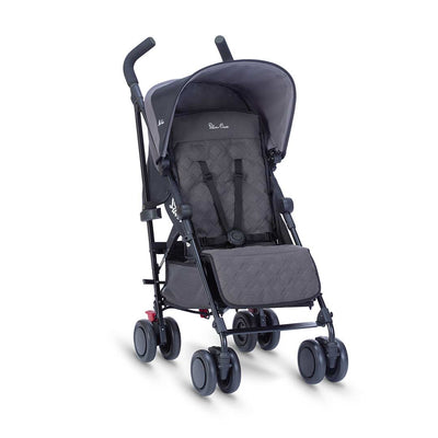 Silver Cross Pop Pushchair - Flint-Strollers- Natural Baby Shower