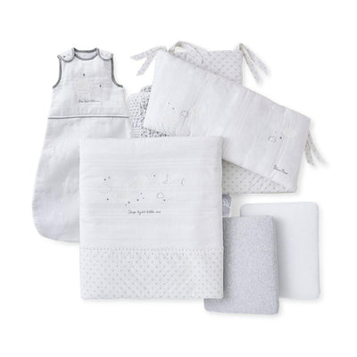 Silver Cross Premium New Baby Pack - 5 Piece-Clothing Sets-One Size-Clouds- Natural Baby Shower