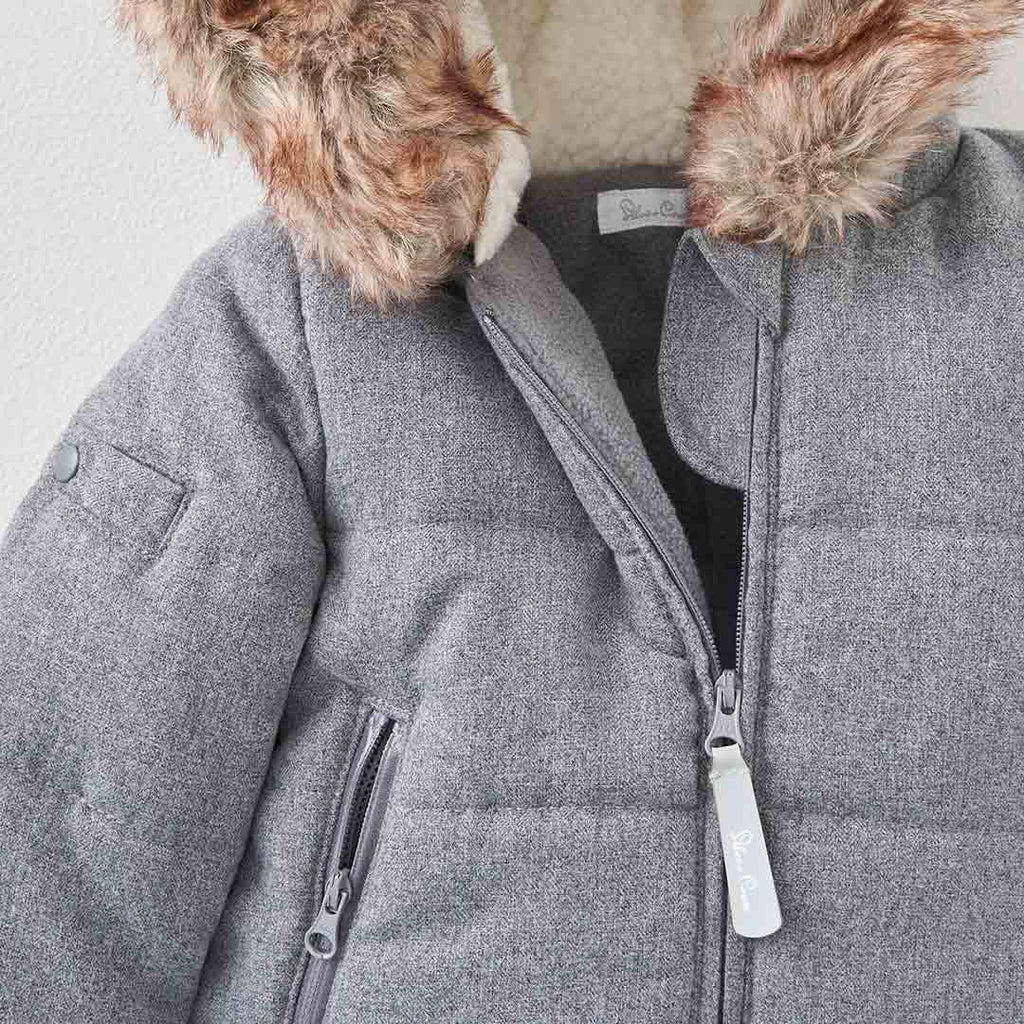Silver Cross Premium Vent Pramsuit - Grey-Coats & Snowsuits- Natural Baby Shower