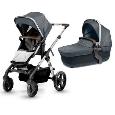 Silver Cross Wave Pushchair 2019 - Slate-Strollers- Natural Baby Shower