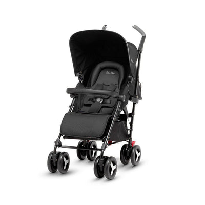 Silver Cross Reflex Pushchair - Onyx-Strollers- Natural Baby Shower