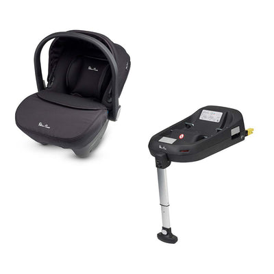Silver Cross Simplicity Car Seat & Base - Black-Car Seats- Natural Baby Shower