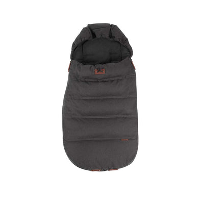 Silver Cross Wave Luxury Footmuff - Charcoal-Footmuffs- Natural Baby Shower
