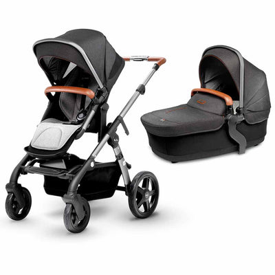 Silver Cross Wave Pushchair 2019 - Granite-Strollers- Natural Baby Shower