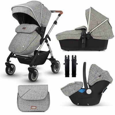 Silver Cross Wayfarer Bundle - Camden-Travel Systems- Natural Baby Shower
