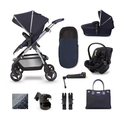 Silver Cross Wayfarer Dream + Base Bundle - Sapphire-Travel Systems- Natural Baby Shower