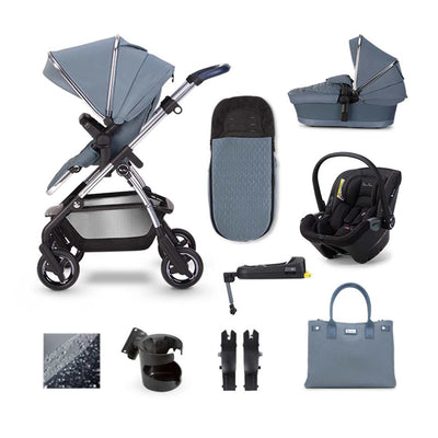 Silver Cross Wayfarer Dream + Base Bundle - Sky-Travel Systems- Natural Baby Shower