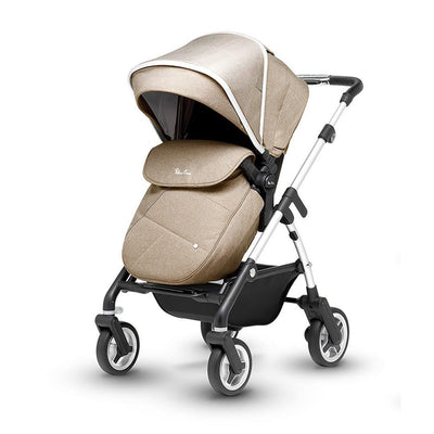 Silver Cross Wayfarer Pushchair - Linen-Strollers- Natural Baby Shower