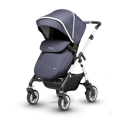 Silver Cross Wayfarer Pushchair + Bag - Midnight - Ex-Display-Strollers- Natural Baby Shower