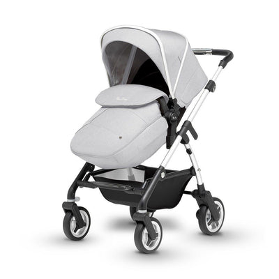 Silver Cross Wayfarer Pushchair - Platinum-Strollers- Natural Baby Shower
