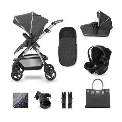 Silver Cross Wayfarer Simplicity Plus Bundle - Clay-Travel Systems- Natural Baby Shower