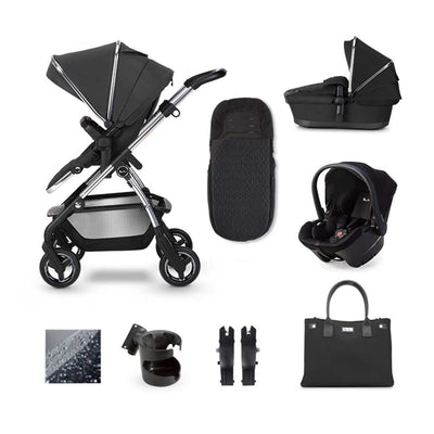 Silver Cross Wayfarer Simplicity Plus Bundle - Pepper-Travel Systems- Natural Baby Shower