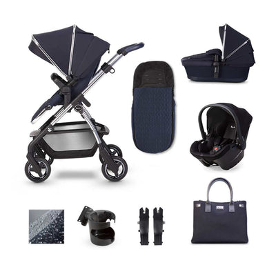 Silver Cross Wayfarer Simplicity Plus Bundle - Sapphire-Travel Systems- Natural Baby Shower