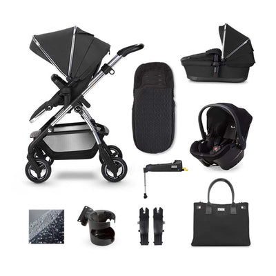 Silver Cross Wayfarer Simplicity Plus + Base Bundle - Pepper-Travel Systems- Natural Baby Shower