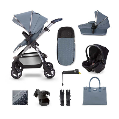 Silver Cross Wayfarer Simplicity Plus + Base Bundle - Sky-Travel Systems- Natural Baby Shower