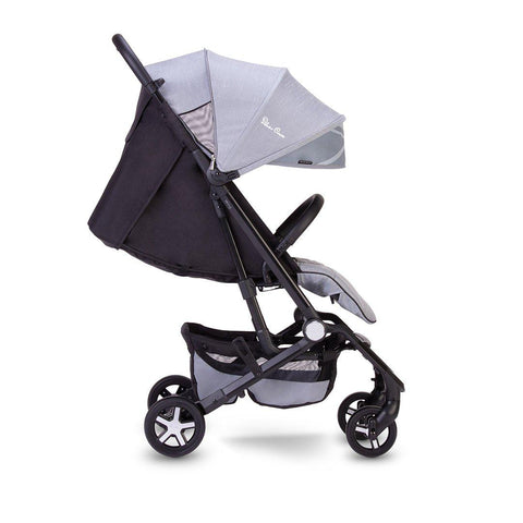 Silver Cross Wing Pushchair - Powder Blue-Strollers- Natural Baby Shower