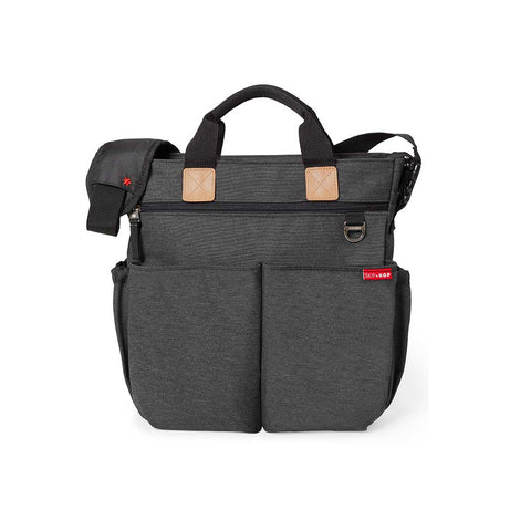 Skip Hop Duo Signature Changing Bag - Soft Slate-Changing Bags- Natural Baby Shower