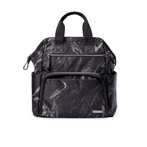Skip Hop Mainframe Backpack - Black Marble-Changing Bags- Natural Baby Shower