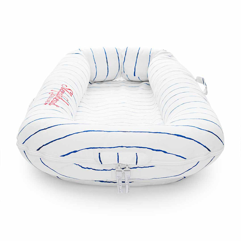 Sleepyhead Deluxe+ Pod - Mariniere-Baby Nests- Natural Baby Shower