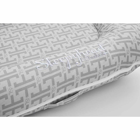 Sleepyhead Deluxe+ Pod - Signature Grey-Baby Nests- Natural Baby Shower