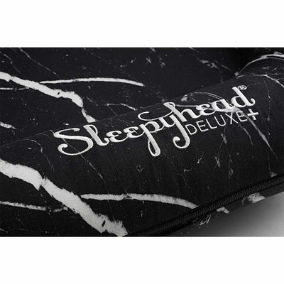 Sleepyhead Deluxe+ Spare Cover - Black Marble-Baby Nest Covers- Natural Baby Shower