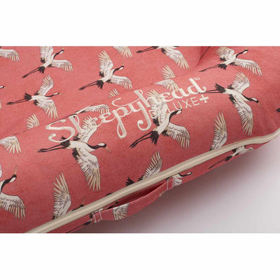 Sleepyhead Deluxe+ Spare Cover - Crane-Baby Nest Covers- Natural Baby Shower