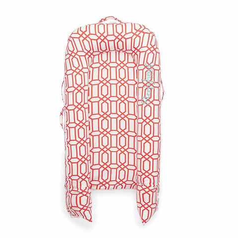 Sleepyhead Grand Pod - Coral Trellis-Baby Nests- Natural Baby Shower
