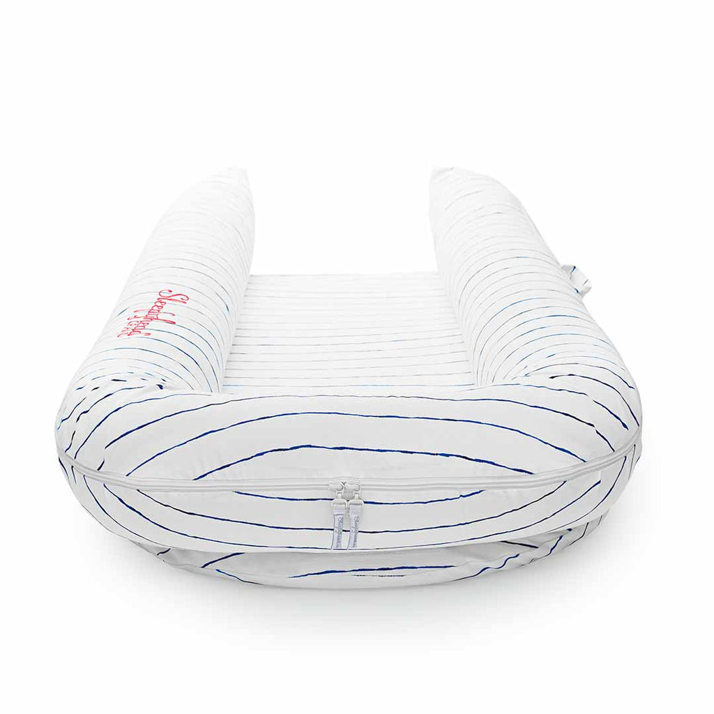 Sleepyhead Grand Pod - Mariniere-Baby Nests- Natural Baby Shower