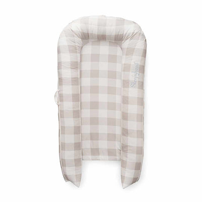 Sleepyhead Grand Pod - Natural Plaid-Baby Nests- Natural Baby Shower