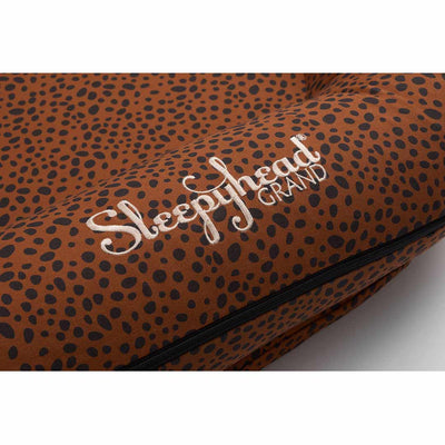 Sleepyhead Grand Spare Cover - Bronzed Cheetah-Baby Nest Covers- Natural Baby Shower