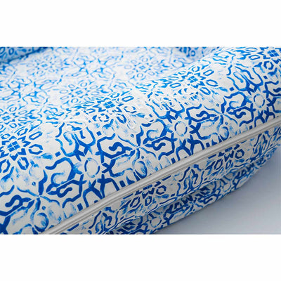 Sleepyhead Grand Spare Cover - Villa Azure-Baby Nest Covers- Natural Baby Shower